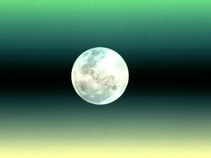 Cold full moon - Casey's Art and Photography