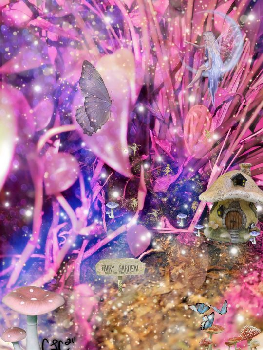 Fairy Garden - Casey's Art and Photography