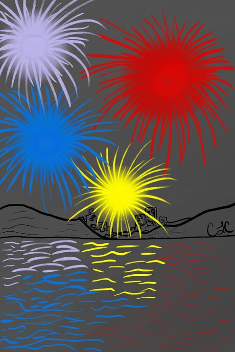 Fireworks - Casey's Art and Photography