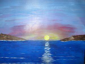 Sunset - Art from the Heart by Lighthart