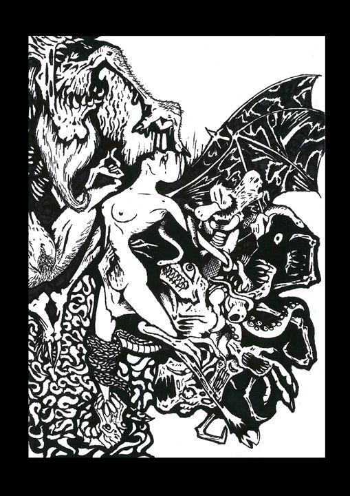 Temptation - Janick Peters, Dark-Art Extravaganza