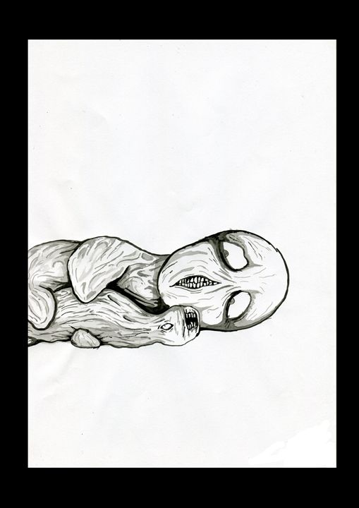 scared - Janick Peters, Dark-Art Extravaganza