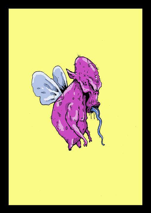 fly guy - Janick Peters, Dark-Art Extravaganza