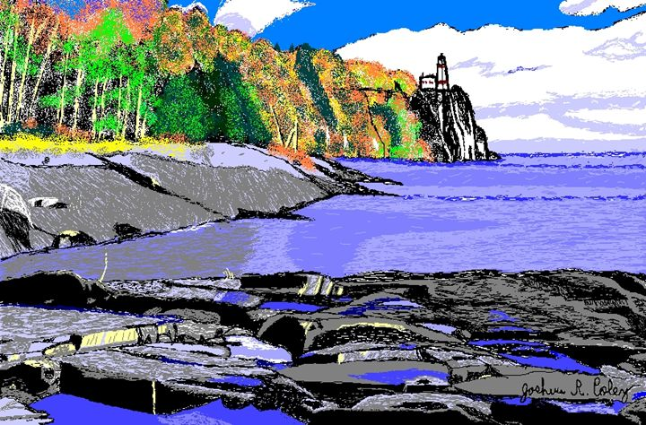 Split Rock Lighthouse - My Art