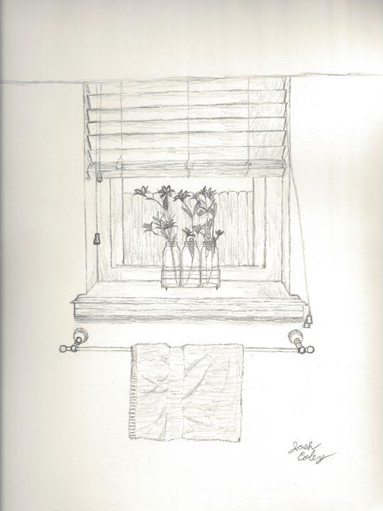 Flower Window - My Art