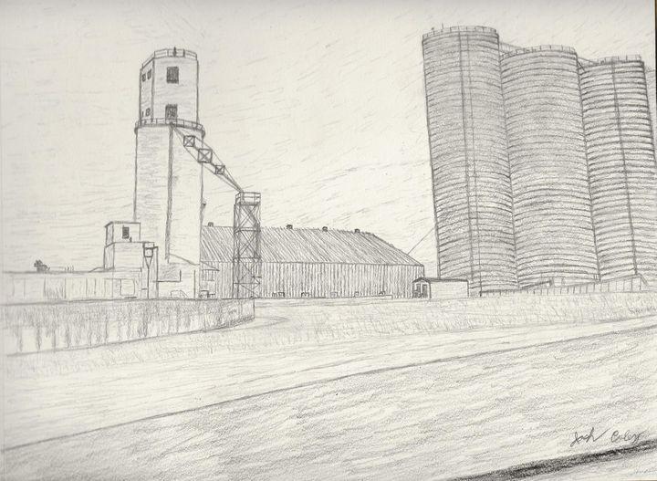 Grain Mill - My Art