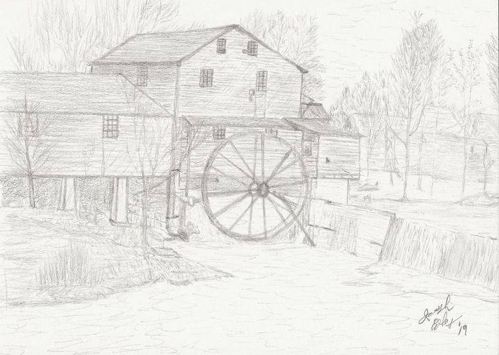 Pigeon Forge Mill - My Art
