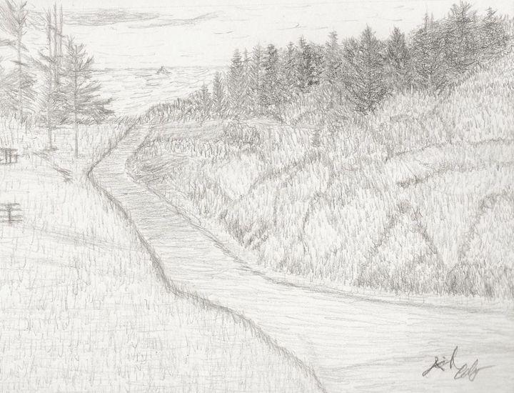 Ocean Path - My Art