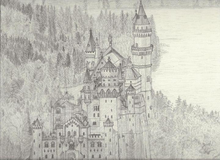Neuschwanstein Castle - My Art