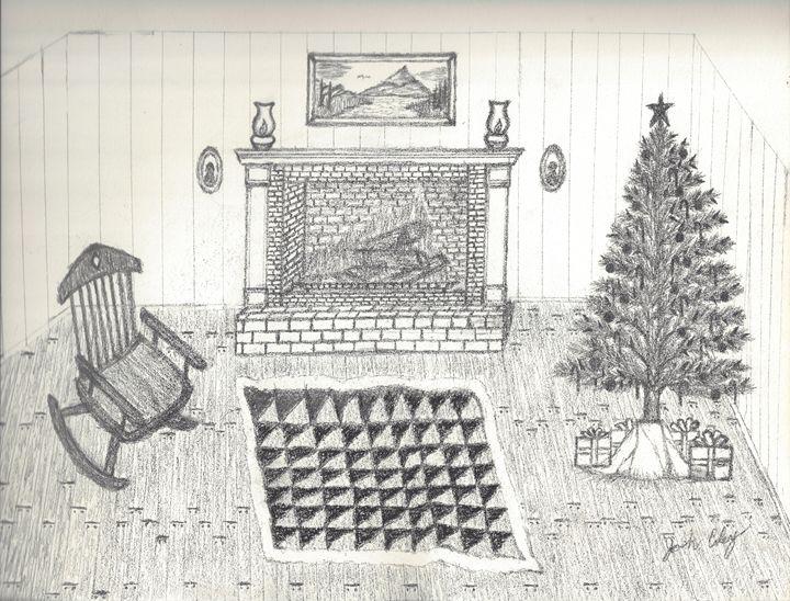Christmas Scene - My Art