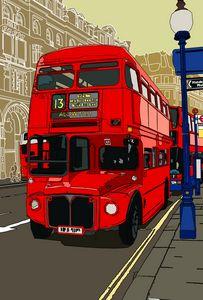 The city Route Master. - Addi Rujoh