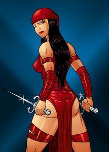 Elektra..miss assasin
