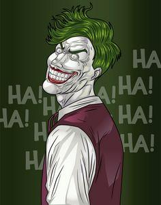The sinister Joker