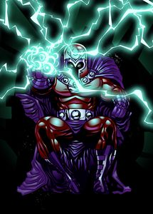 Magneto. Master of Magnetism.
