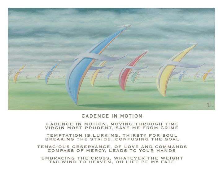 Cadence in Motion - with poetry - Eddie Vendetti