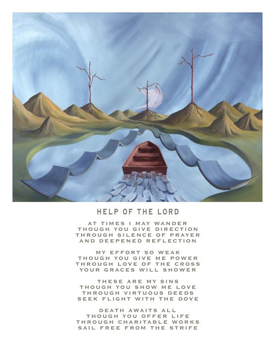 Help of the Lord - with poetry - Eddie Vendetti