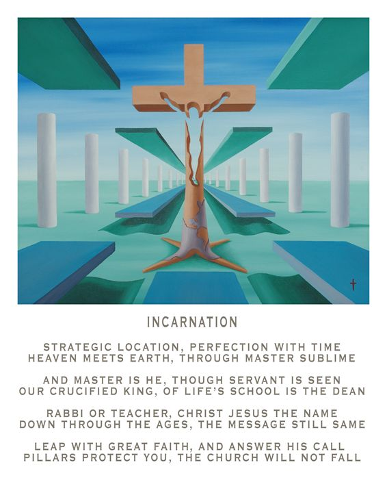 Incarnation - with poetry - Eddie Vendetti
