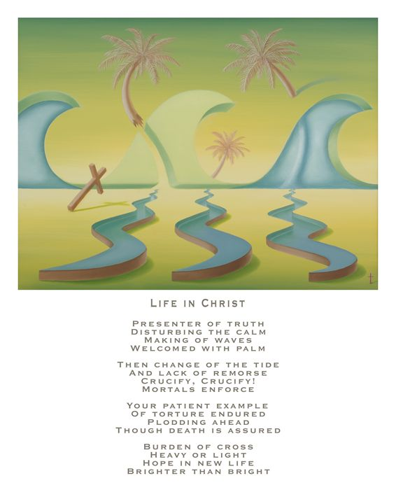 Life in Christ - with poetry - Eddie Vendetti