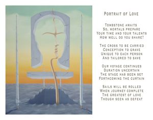 Portrait of Love - with poetry