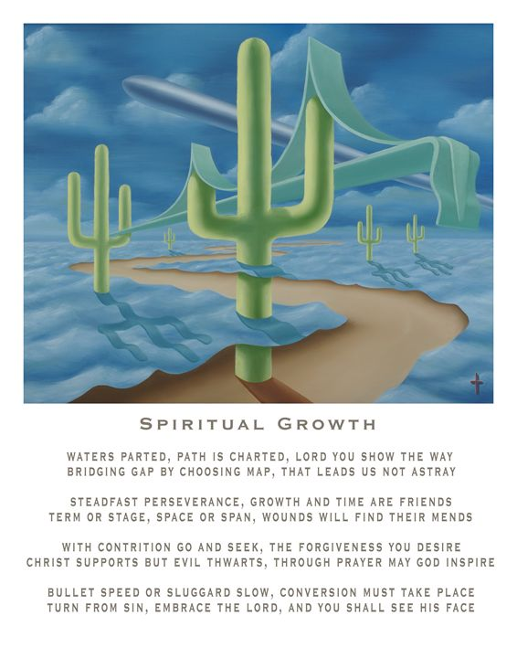 Spiritual Growth - with poetry - Eddie Vendetti
