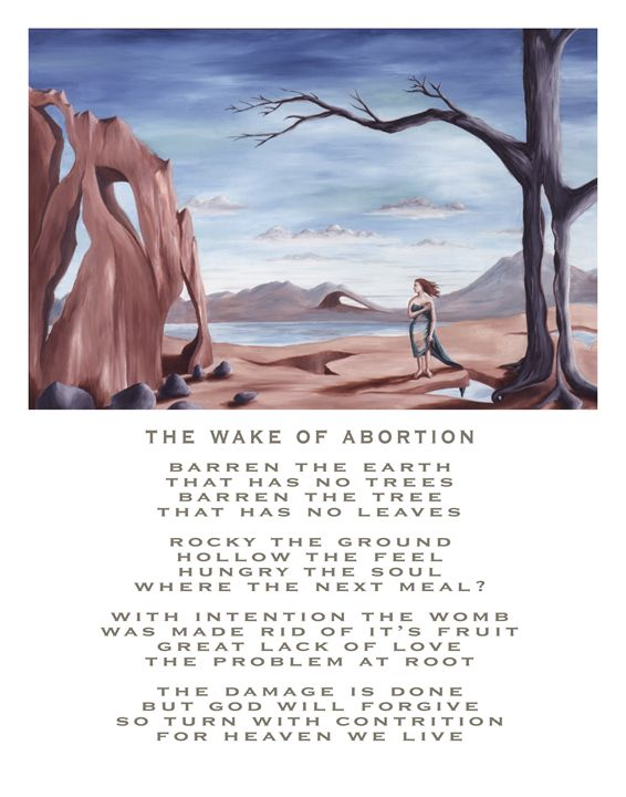 The Wake of Abortion - with poetry - Eddie Vendetti