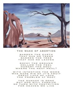 The Wake of Abortion - with poetry