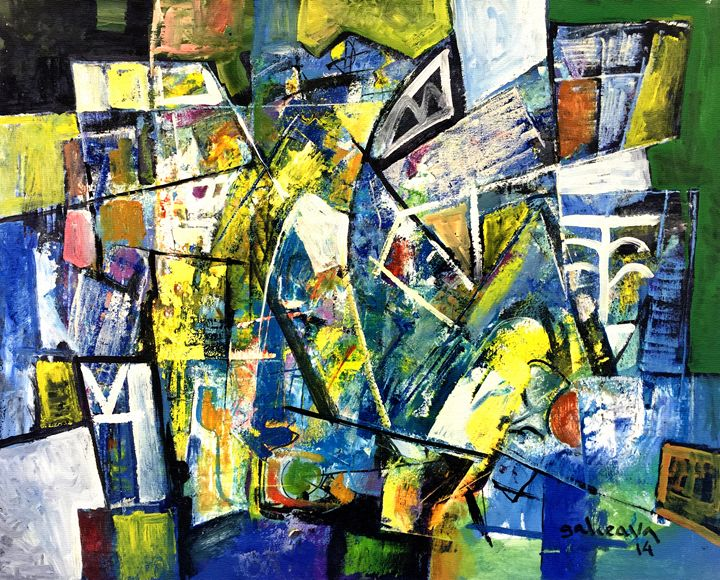 Composition 1 - Galceava Paintings