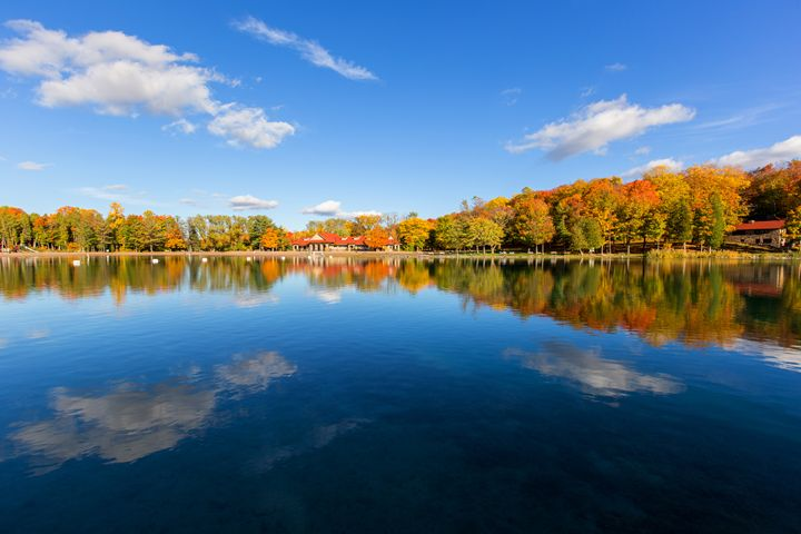 Green Lakes in Autumn - Old Farmhouse Creations