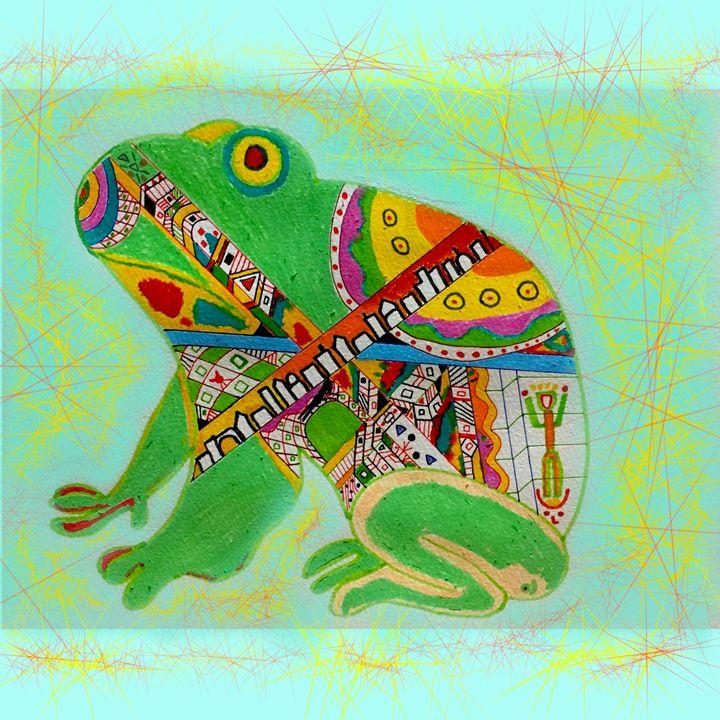 Static Frog - artxralph