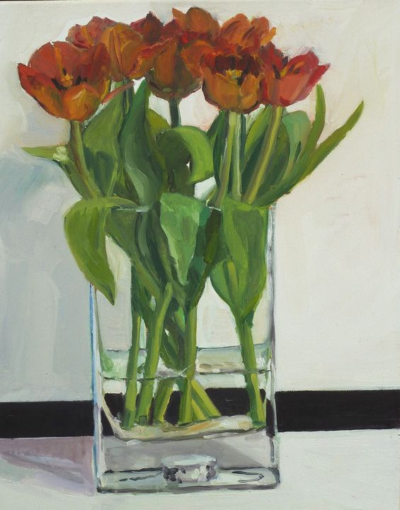 Tulips in the Shed - Oli George