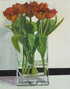 Tulips in the Shed