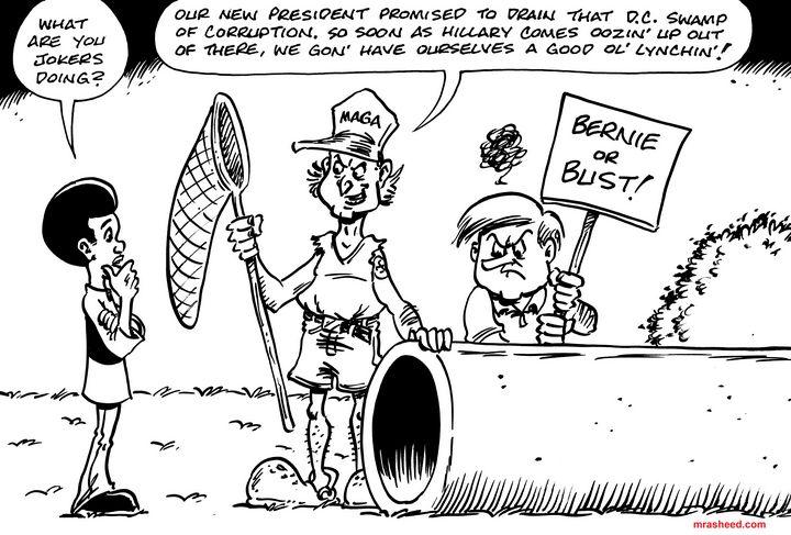 Drain - Inktober 2018 (21\31) - M. Rasheed Cartoons