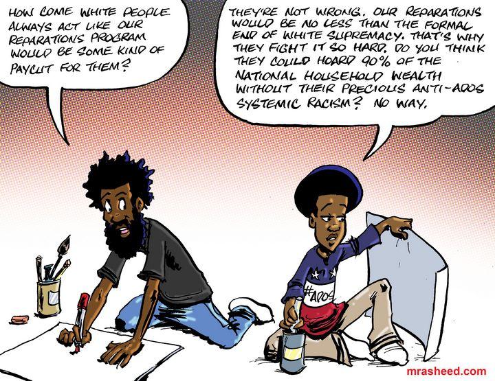 The Long-Awaited End of an Evil Era - M. Rasheed Cartoons