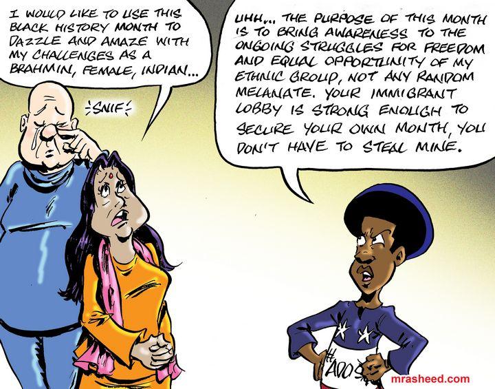 A Shameless Appropriation of My A... - M. Rasheed Cartoons