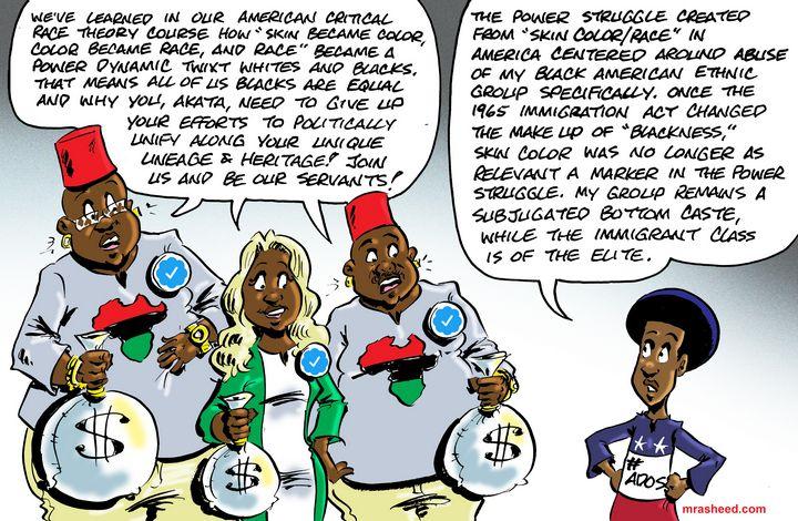 'Flat Blackness' isn't the Opposi... - M. Rasheed Cartoons