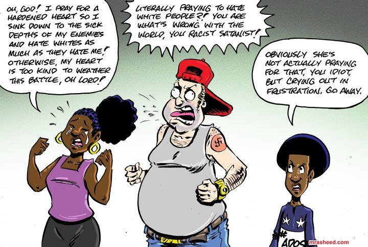 True to Type - M. Rasheed Cartoons