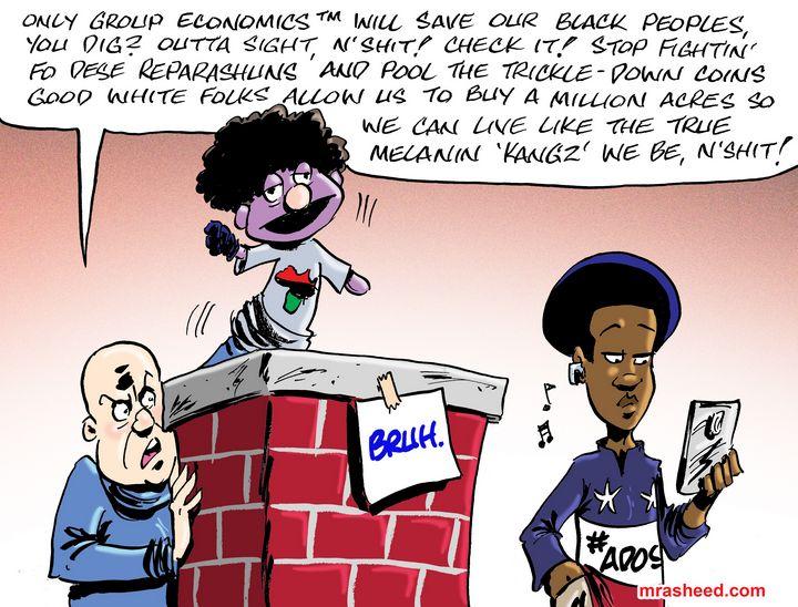 The Comical Persistence of Nixon... - M. Rasheed Cartoons