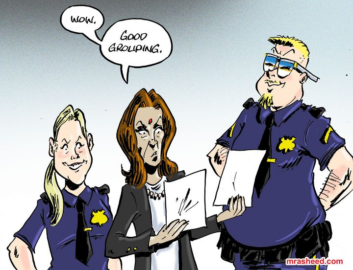 VP Kamala Harris Weighs in on Dau... - M. Rasheed Cartoons