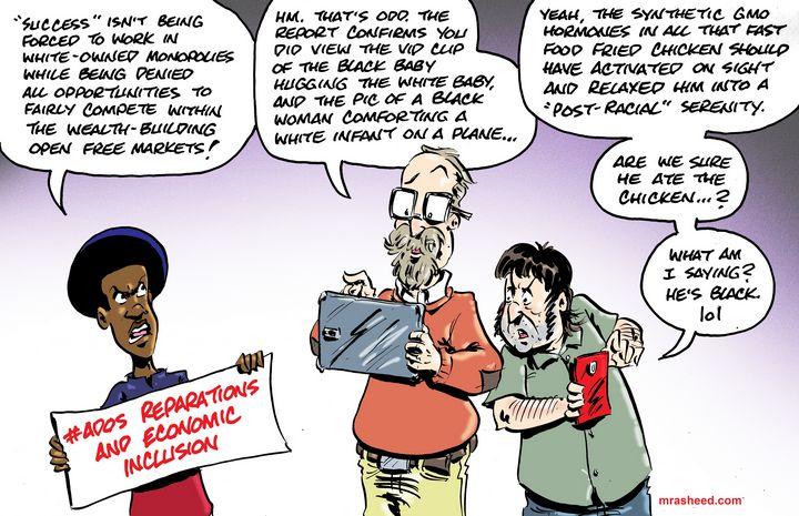 Data-Driven Activism is the Defen... - M. Rasheed Cartoons