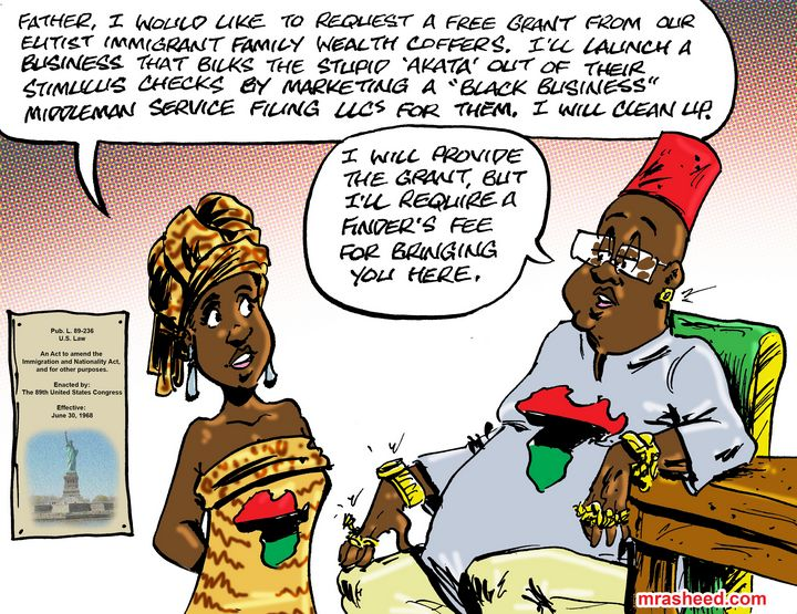 Come to exploit our tired, our po... - M. Rasheed Cartoons