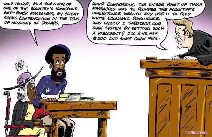 A New Kind of Shackles - M. Rasheed Cartoons