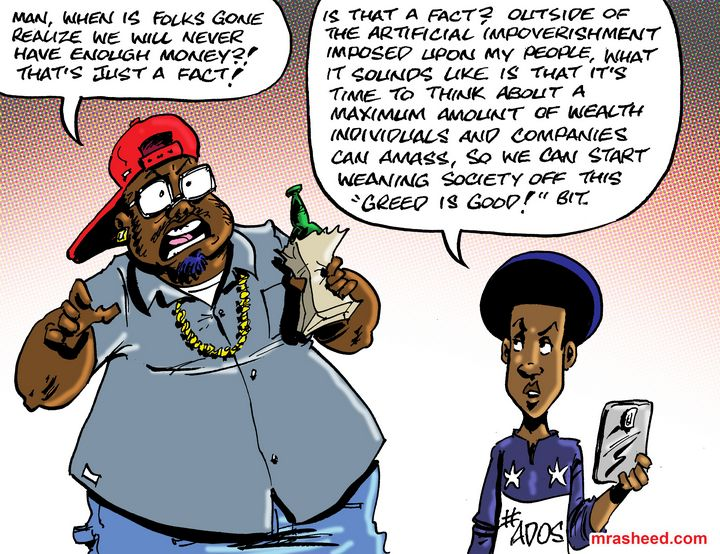 Long Overdue Expiry Date on Bigness - M. Rasheed Cartoons