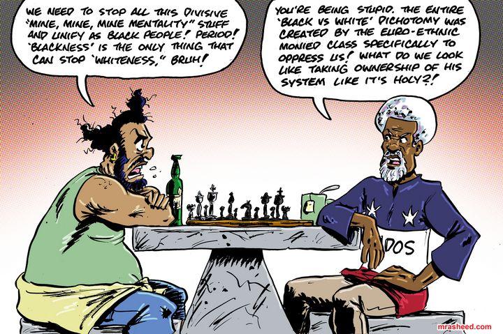 The Opposite of 'Whiteness' is FR... - M. Rasheed Cartoons