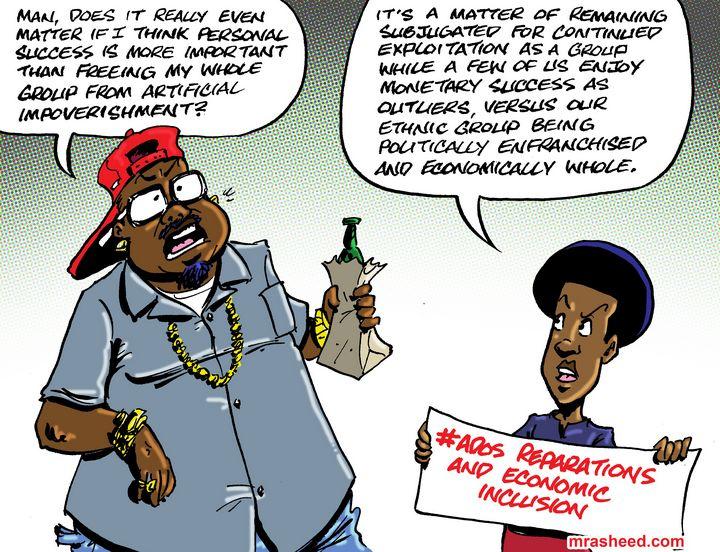Way of the Selfish Coward - M. Rasheed Cartoons