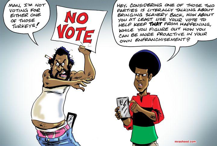 Rebel Without Direction - M. Rasheed Cartoons