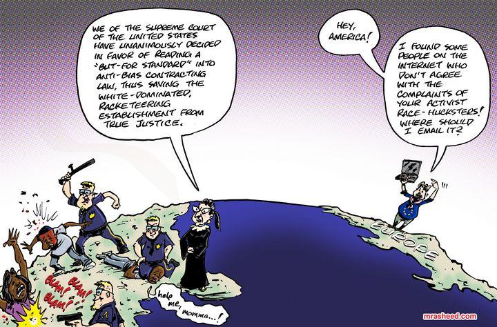The Dubious Value in Ignorant, Lo... - M. Rasheed Cartoons