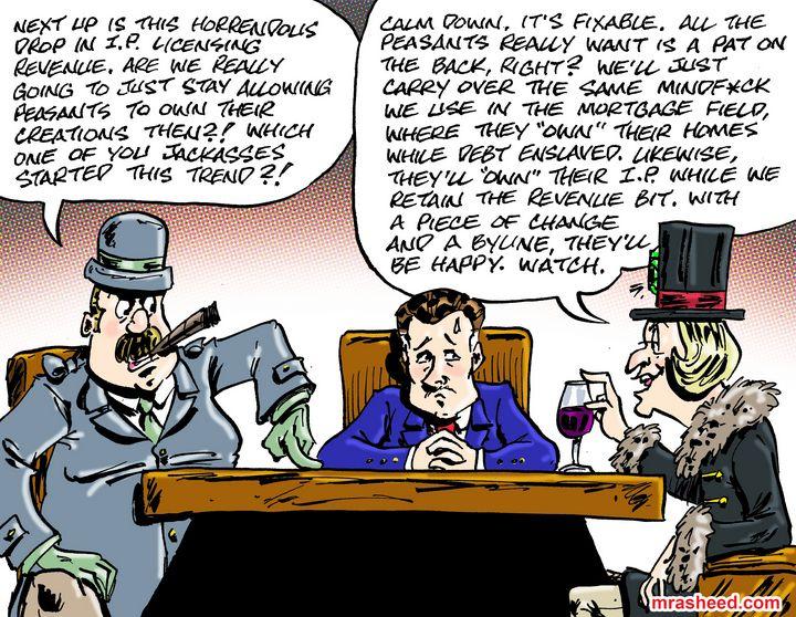 The Self-Correcting Finesse - M. Rasheed Cartoons
