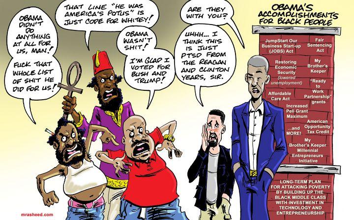 Magic Thinking vs Strategy - M. Rasheed Cartoons