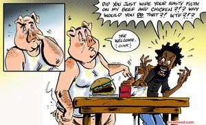INGREDIENTS: Pork, Chicken & Beef...