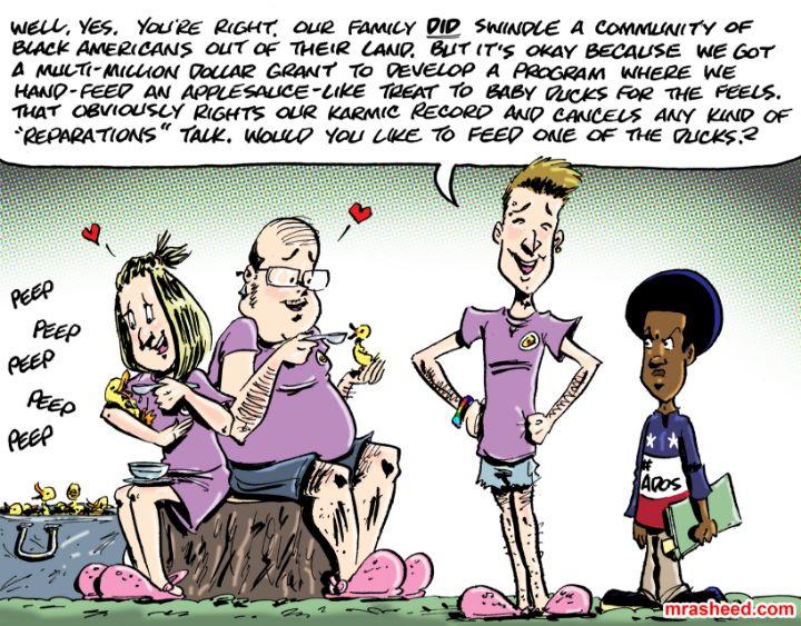 The Racist's Handbook (Chapter 8)... - M. Rasheed Cartoons